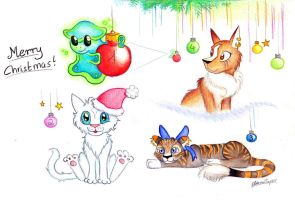 Christmas Adoptables for you by EleanorTopsie