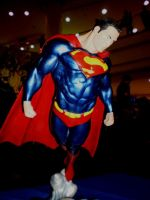 Superman statue by force2reckon
