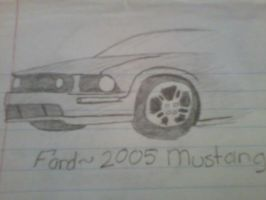 Ford 2005 Mustang GT by Shayza100