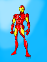 Iron Man by CHCHcartoons