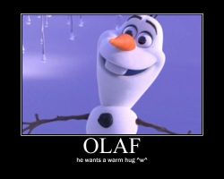 Olaf warm hug motivational ^^ by alucardserasfangirl