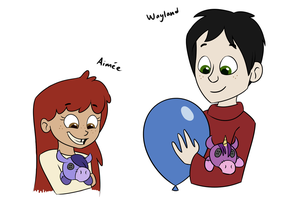 Wayland and Aimee by 9CentsChange