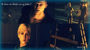 He knows who Wesker was my father? by WordierBravo7