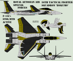 Eagle F-15C+ (remodeled) by Zhanrae30