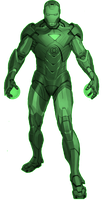 Green Lantern Iron Man by KalEl7