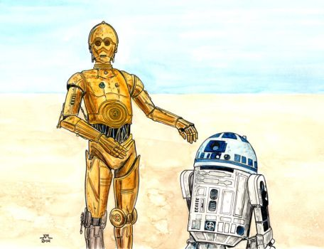 Droids by Lord-Makro