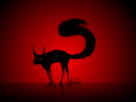 The Cat by Anubissa