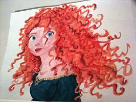 Merida - Brave by Itzaka