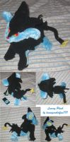 Luxray plush by teenagerobotfan777