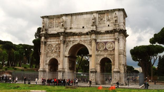 Arch of Constantine by sebadorn