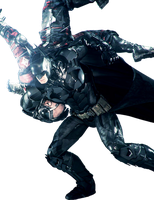 Batman Arkham Knight Render In Finishing Action by RajivCR7
