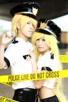 Daten City Police :: 01 by soulCerulean