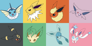 Eeveelutions :3 by portadorX