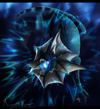 . Vaporeon . Water Pulse '17 . by ShadowCatsKey