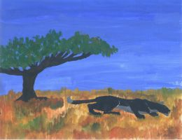 Tanzania Savannah by Wolf-Sis-the-Small