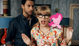 Pinkie Pie Photobomb: Taylor Swift - WANEGBT by AdrianImpalaMata