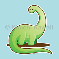 Kawaii Dinosaur by kimchikawaii