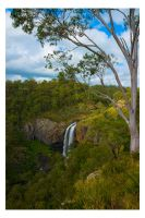 Lower Ebor Falls by Cameron-Jung