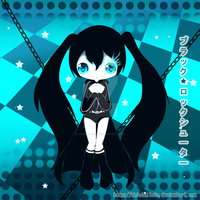 Black Rock Shooter by chicinlicin