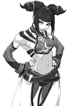 Street Fighter Juri 2 by oetaro