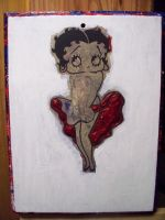 Betty Boop Almost Done! by johnlewisbrooks