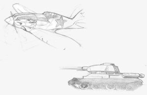russian war machines sketch by poopDC