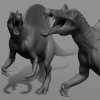 Spinosaurus - Zbrush model by mx