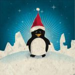 christmas pinguiiin by freesky