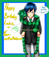 Happy Birthday LuckiiClover! by xxxRinRulesxxx