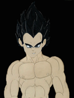 Lexy's Vegeta, retouched by SassyPrincess-LexyLu