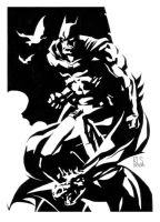 Batman by ronsalas