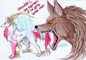 Shouldn t be ... by WhiteSpiritWolf
