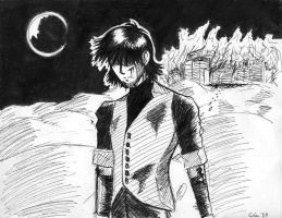 Psycho Wolfwood by LaCidiana