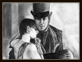 Les Miserables: Jean and Fantine by egrka