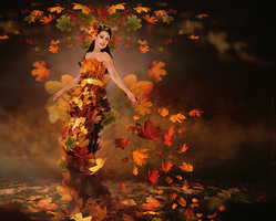 Loving autumn colors by Lhianne