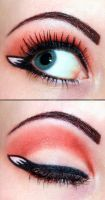 Firefox eyeshadow by Creativemakeup