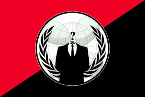 Anonymous Flag by D3L1GHT