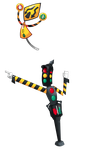 Fakemon: trash, ice cones, keys, now traffic signs by That-One-Leo