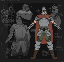 Pre hollowing Balder knight concept by RolBro