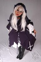 Suigintou Cosplay by the-kender