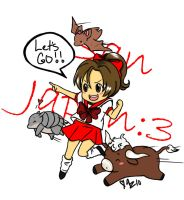 San Japan :3 Entry 1 by coffeejelly
