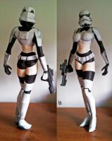 trooper girl by lubre53