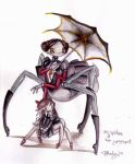 Ms Spider and Youngest. by hallu