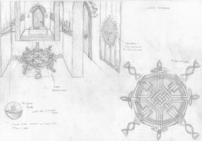 Temple Concept Art 2 by Anararion