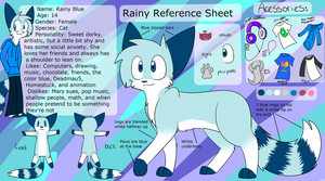 Rainy Reference Sheet by Rainy-bleu