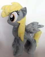 Derpy Hooves Plush - side by JanellesPlushies