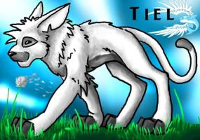 Tiel the White Cougar by spatialchaos