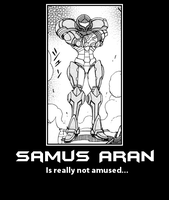 Unamused Samus - Demotivational by Varia31
