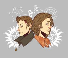 SPN tshirt Design (Vers. 2) by PotatoCrisp