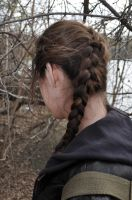 Katniss Everdeen Braid Stock I by kndrwllmsn